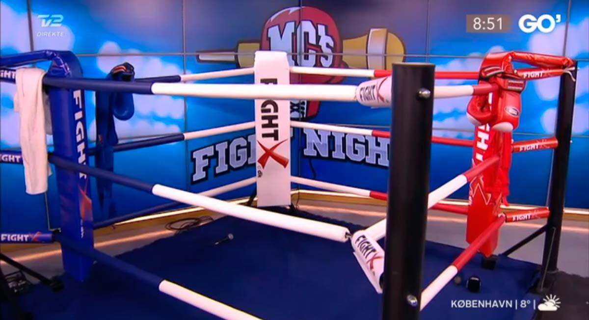 FIGHTX's miniboksering udlånt til TV2 Go' Morgen Danmark