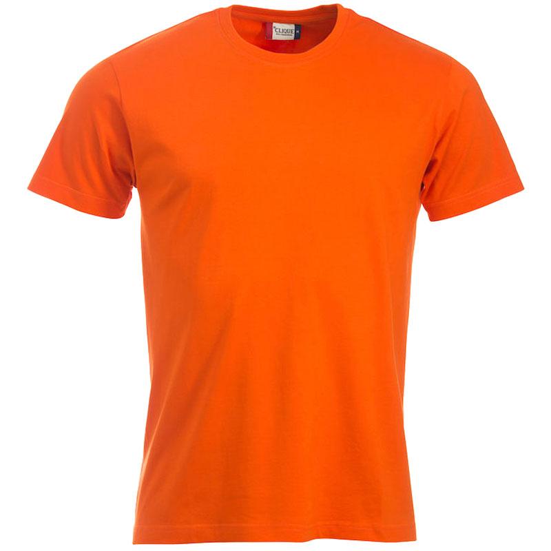 Clique t shirt New Classic herre orange