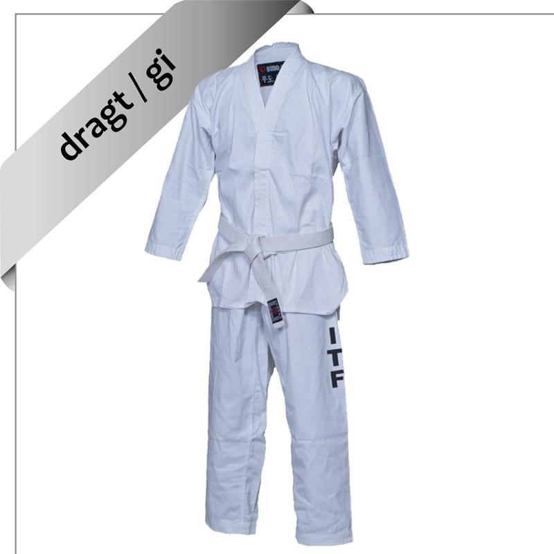 dragt / gi til ITF taekwon-do