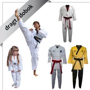 dragt / dobok til taekwondo