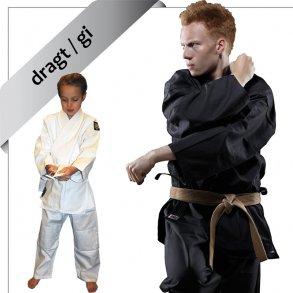 dragt / gi til ju jutsu & jiu jitsu