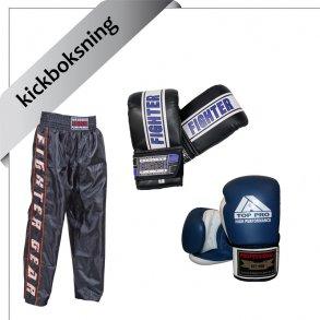 udstyr til kickboksning
