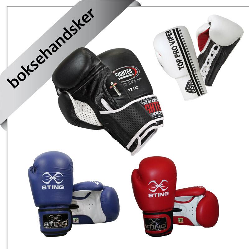 boksehandsker til kickboksning