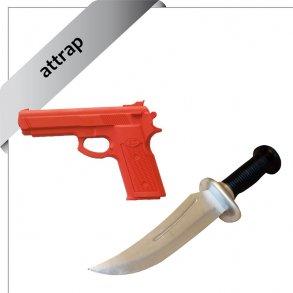pistol-/knivattrap