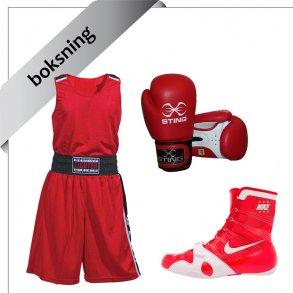 udstyr til boksning