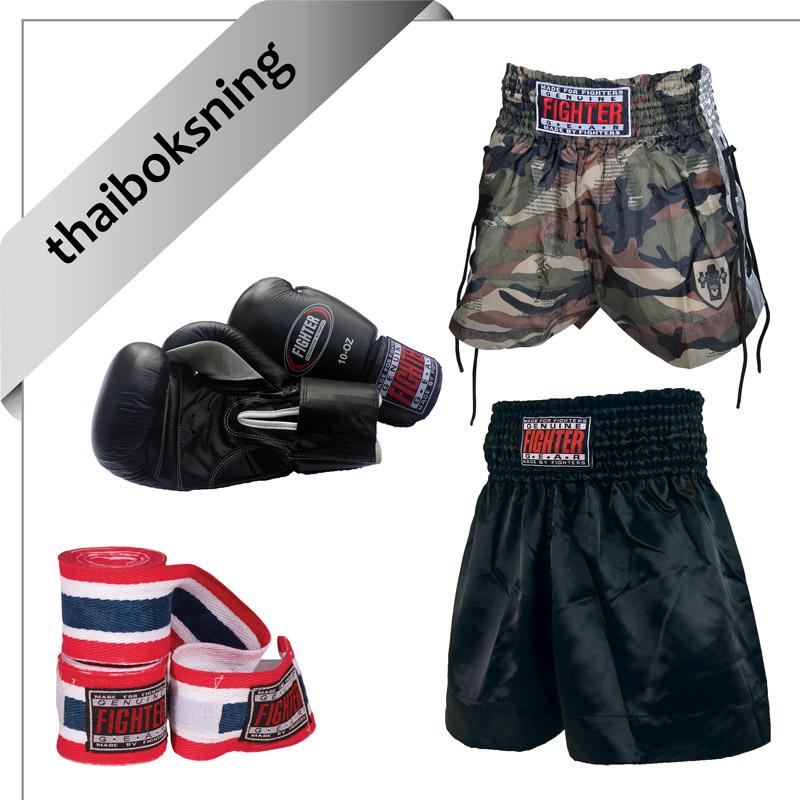 udstyr til thaiboksning