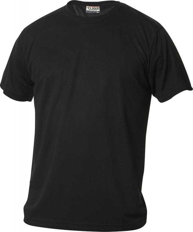 Clique t shirt Ice herre sort