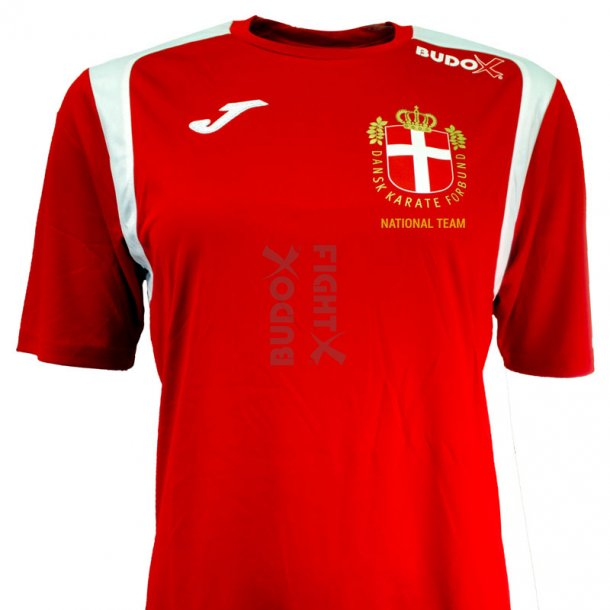 DKarF Joma t-shirt Champion V - rød/hvid